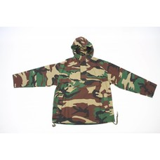 Pull-over jas camouflage