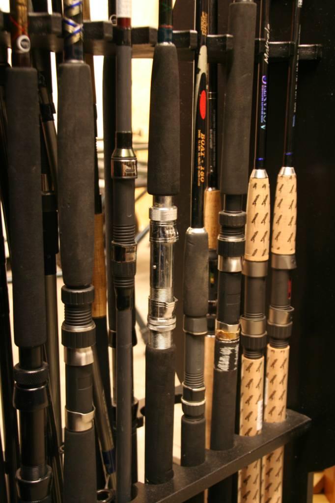 Dead bait rods