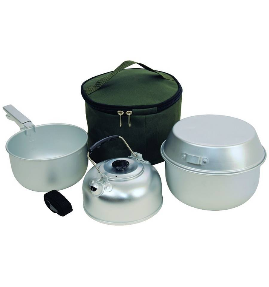 Lighting & cooking equipment for carp fishing