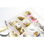 Predox tacklebox gevuld met spinnerbladen | 200 st