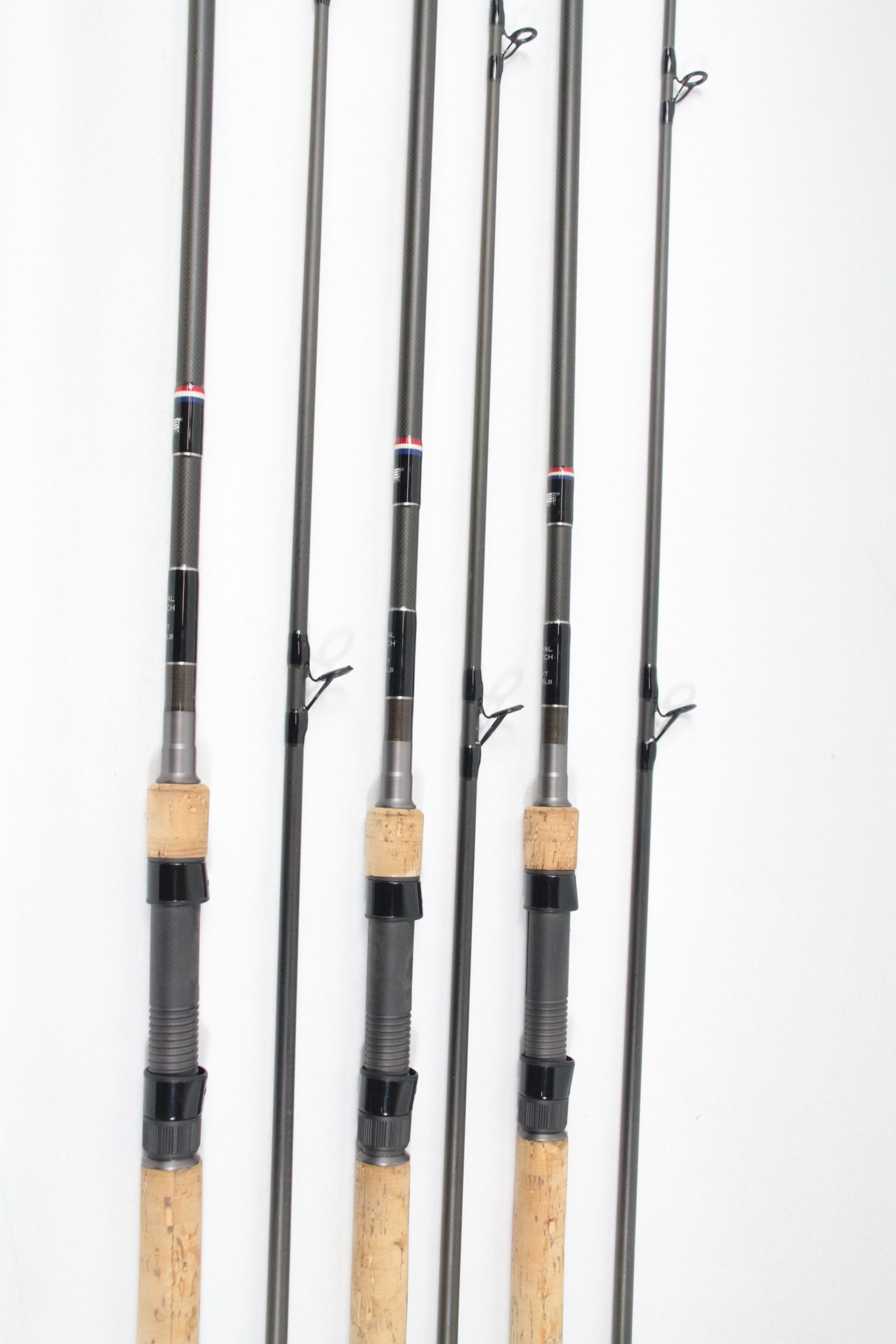 New & second-hand carp rods