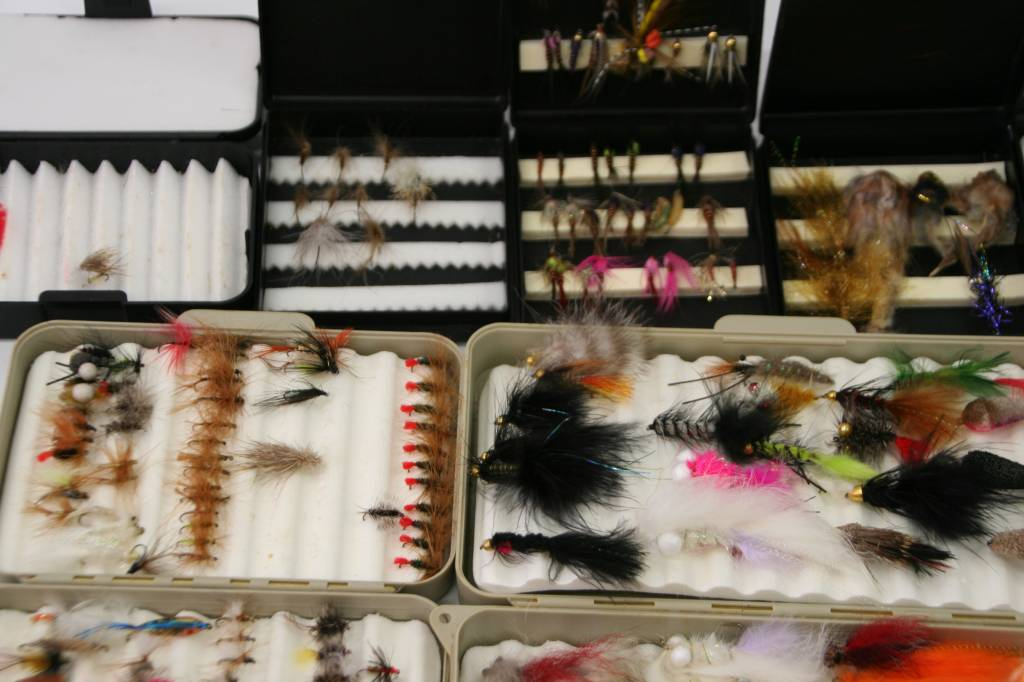 Fly fishing flies & fly tying materials & supplies