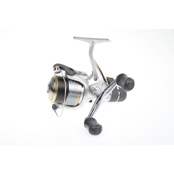 Spinning reels with rear drag
