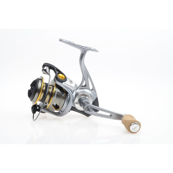Spinning reels with front drag