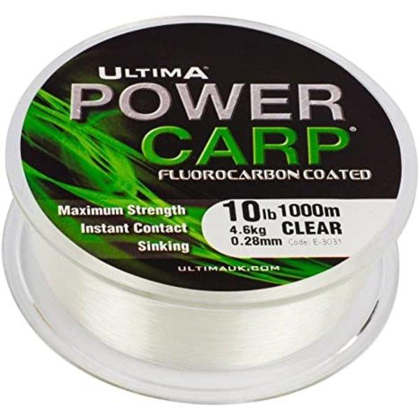 Ultima power carp flurocarbon coated   clear   1000M   fluorcarbon line