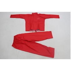 Ron Thompson pro flexi soft rain suit 2 delig rood | maat S | regenpak