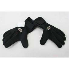 DAM neoprene gloves black