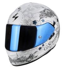 Scorpion EXO-510 AIR AZALEA White Silver