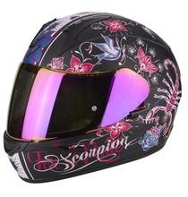 Scorpion EXO-390 CHICA Matt Black Pink