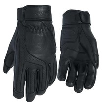 RST RST Cruz CE Gloves Street Leather Summer Black Siz