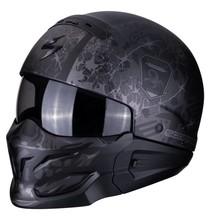 Scorpion EXO-COMBAT Stealth Matt Black-Silver XS