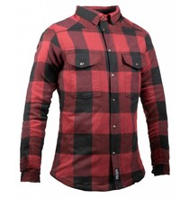 John Doe Motoshirt Women Black/Red