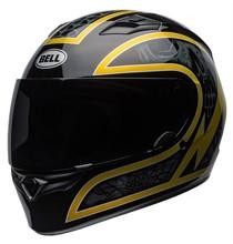 Bell BELL Qualifier Helmet Scorch Gloss Black/Gold Flak