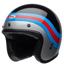 Bell BELL Custom 500 DLX Helmet Pulse Gloss Black/Blue/