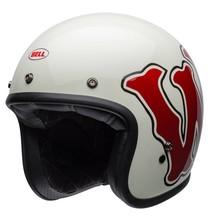 Bell BELL Custom 500 DLX SE Helmet RSD WFO Gloss White/