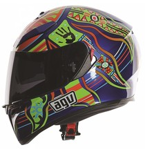 AGV K-3 SV Top 5 continents