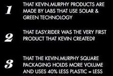 Kevin Murphy houdt van onze planeet!