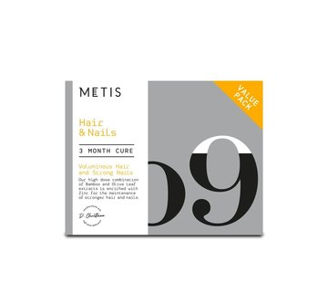 METIS HAIR & NAILS 09 - VITAMINE - 204 CAPS