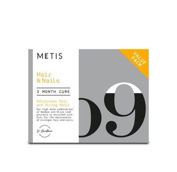 METIS HAIR & NAILS 09 - CUREPACK 204 CAPSULES