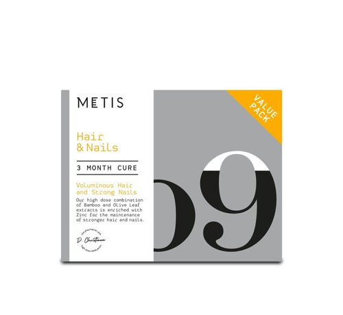 METIS HAIR & NAILS 09 - VITAMINE - CUREPACK 204 CAPSULES
