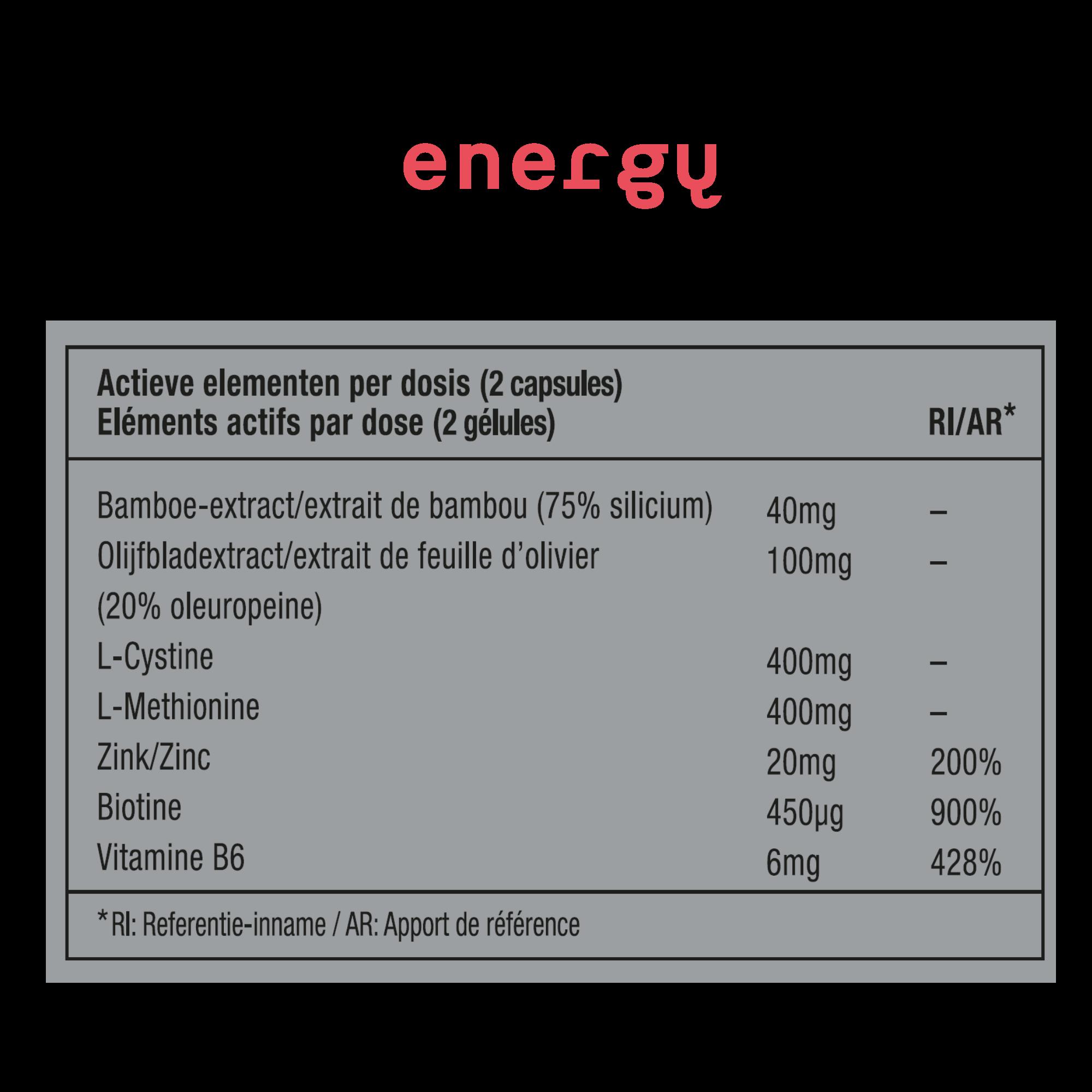 METIS Energy 06 - supplement voor meer energie en focus