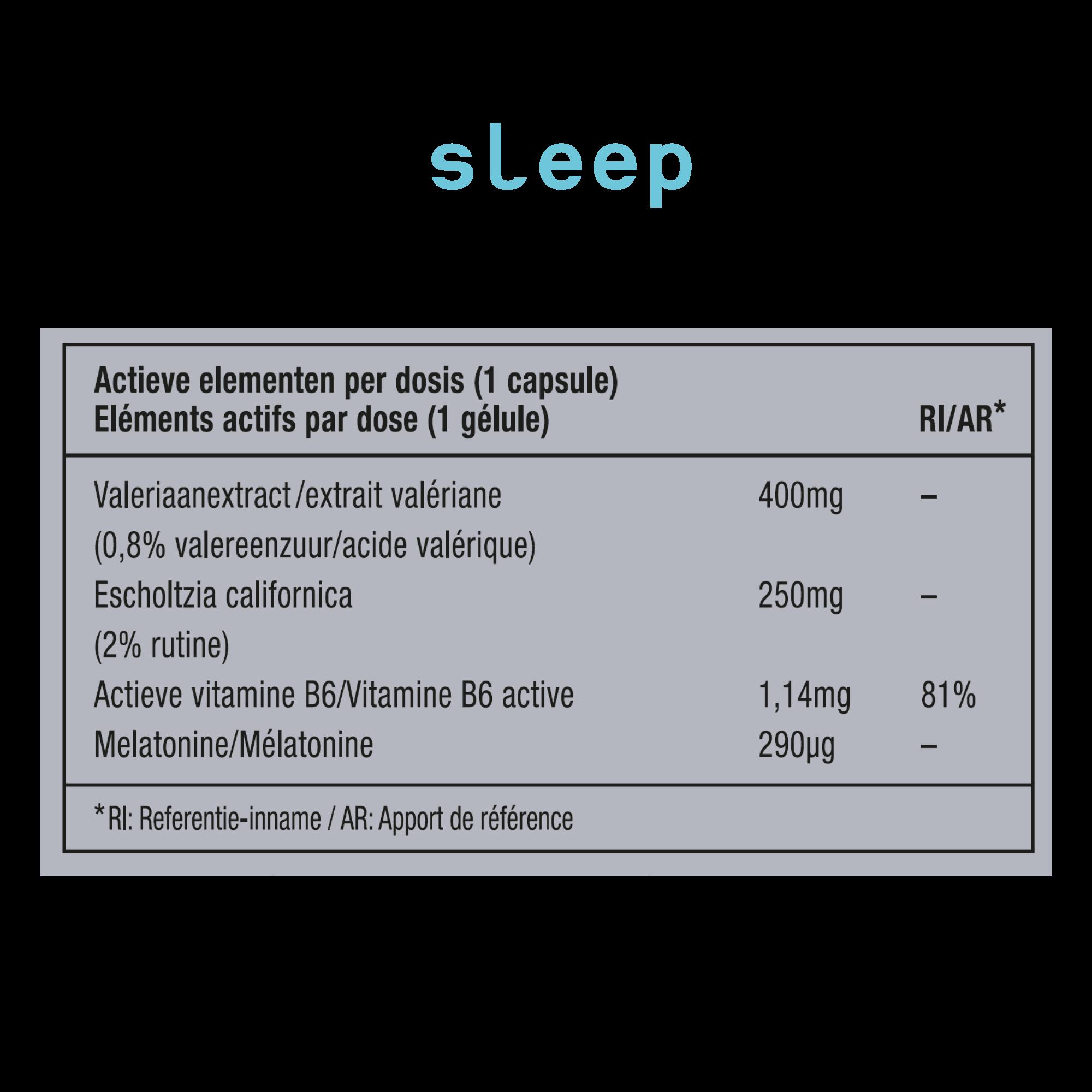 METIS Sleep 08 - helpt om in slaap te vallen