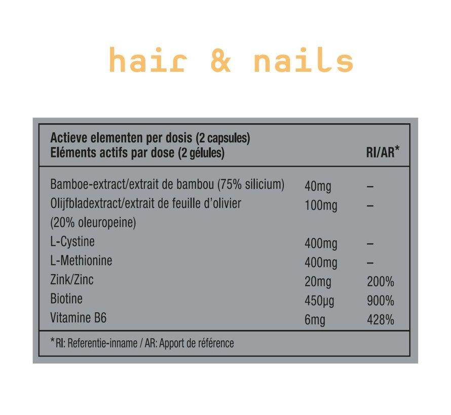 HAIR & NAILS 09 - VITAMINE - BEKER 60 CAPSULES