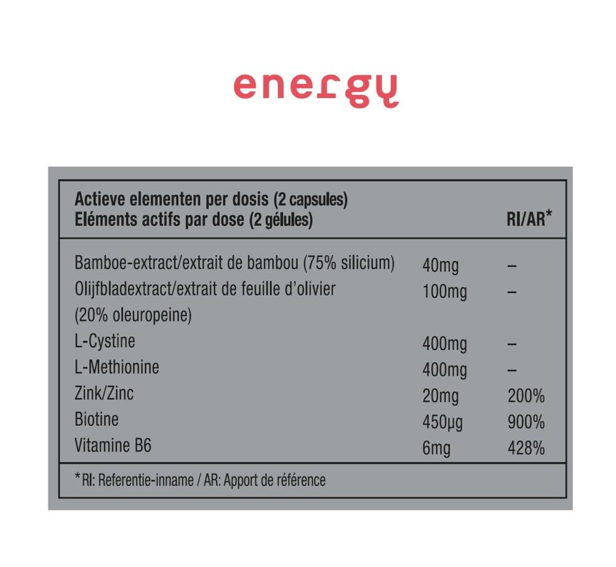 ENERGY 06 - VITAMINE - BEKER 40 CAPSULES