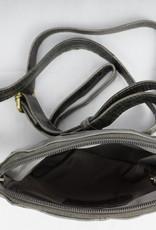Bizzoo Bizzoo bag small with long shoulder strap grey / black