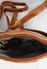 Bizzoo Bizzoo bag small with long shoulder strap cognac