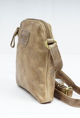 Bizzoo Bizzoo bag small with long shoulder strap taupe