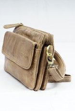 Bizzoo Bizzoo bag small with front pocket taupe