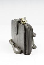 Bizzoo Bizzoo ladies wallet with long shoulder strap black