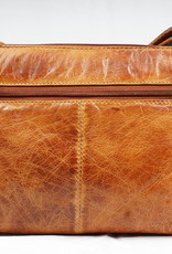 Bizzoo Bizzoo bag with long shoulder strap and front pocket cognac