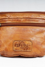 Bizzoo Bizzoo fanny bag with front pocket cognac