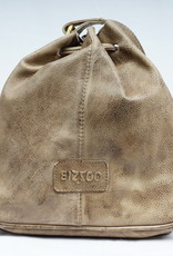 Bizzoo Bizzoo big pouch with drawstring taupe