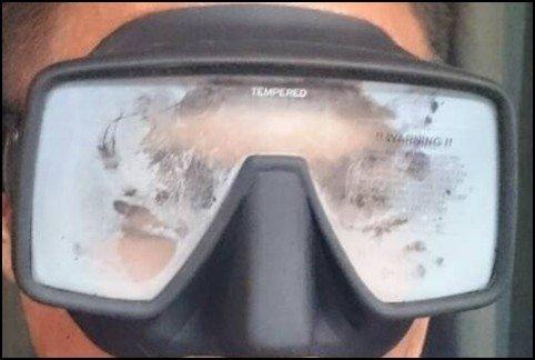 Hoe voorkom ik dat mijn duikbril beslaat?