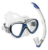 Aqualung Snorkelset Aqualung Reveal X2 blauw