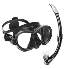 Aqualung Snorkelset Aqualung Reveal X2 zwart