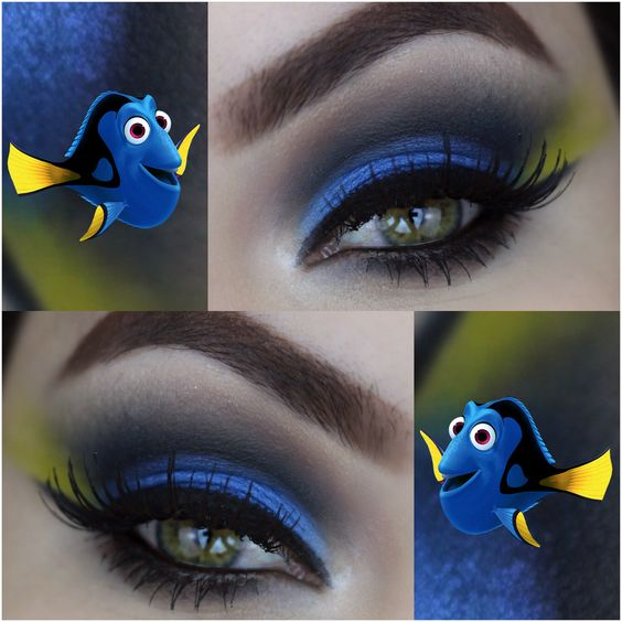 make up nemo dory