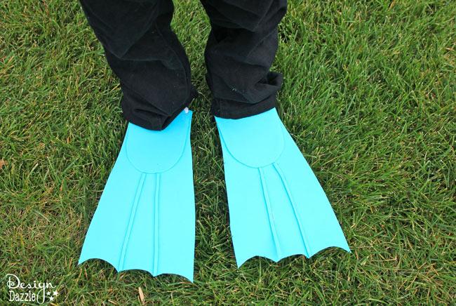 vinnen flippers duiker kostuum