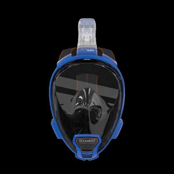 snorkelmasker Aria QR blauw