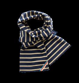 BretonStripe BretonStripe sjaal Navy-Khaki