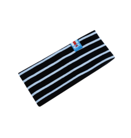 BretonStripe Kinderhoofdband Navy-Sky Blue