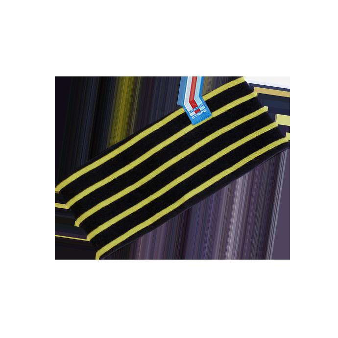 BretonStripe Kinderhoofdband Navy-Lime