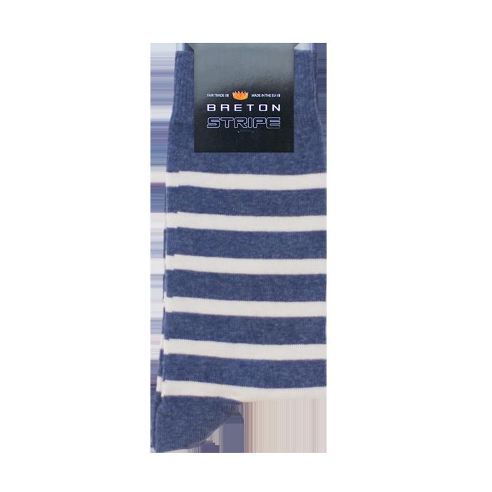 BretonStripe BretonStripe sokken Jeans-Naturel