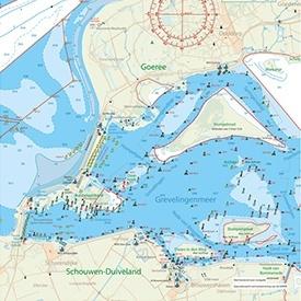Kaartkussen Grevelingenmeer Brouwershaven