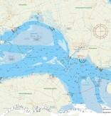 Fleecedeken waterkaart Oosterschelde
