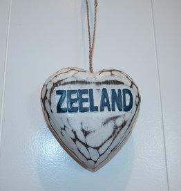 Houten hart Zeeland