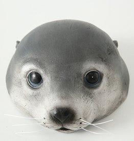 Drijvende zeehond Poggy